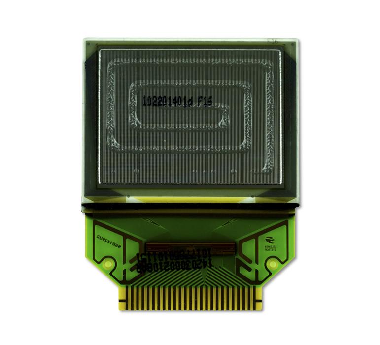 "1.3"" Blue OLED USMP-P14203 Back"