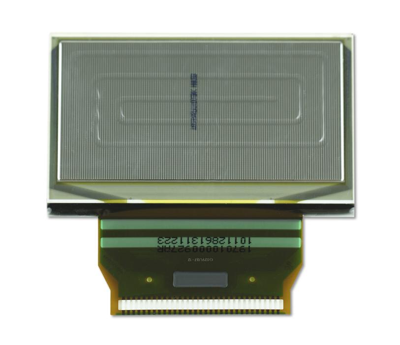 """2.4"""" Yellow OLED USMP-P19701 Back"""