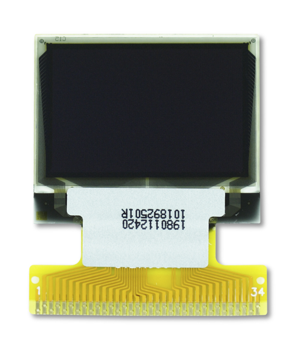 """1.0"""" Full Color OLED USMP-P19801 Front"""