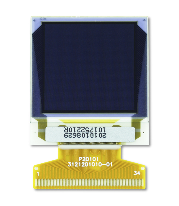 "1.12"" Full Color OLED USMP-P20101 Front"