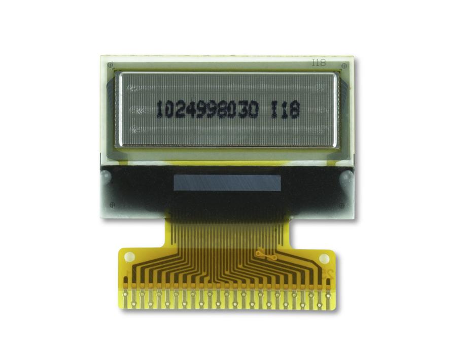 """0.7"""" White OLED USMP-P20603 Back"""
