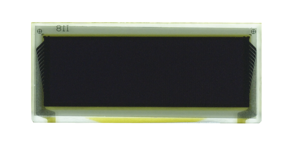 """0.7"""" White OLED USMP-P20603 Front No Tail"""