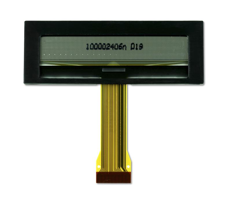 """2.4"""" Yellow OLED USMP-P21501 Back"""