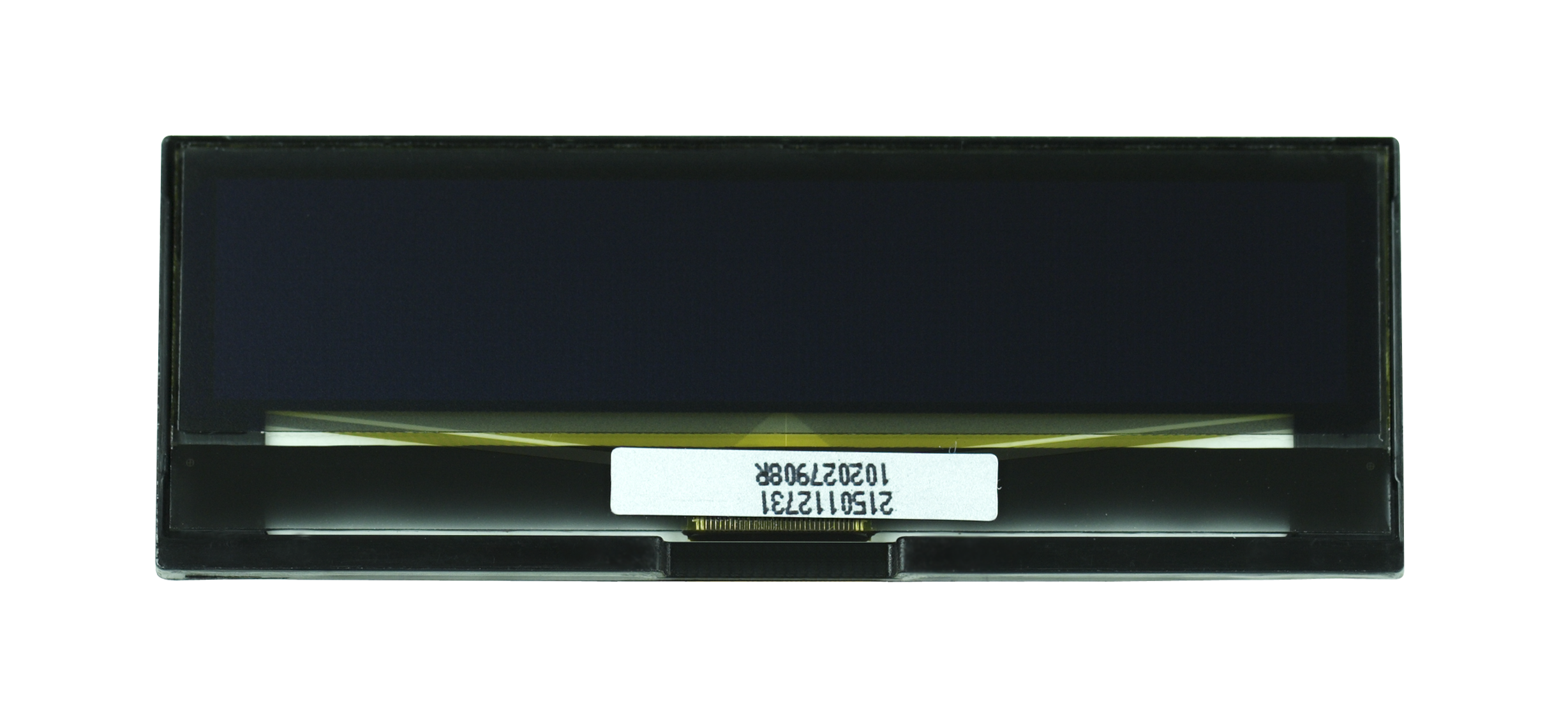 """2.4"""" Yellow OLED USMP-P21501 Front No Tail"""