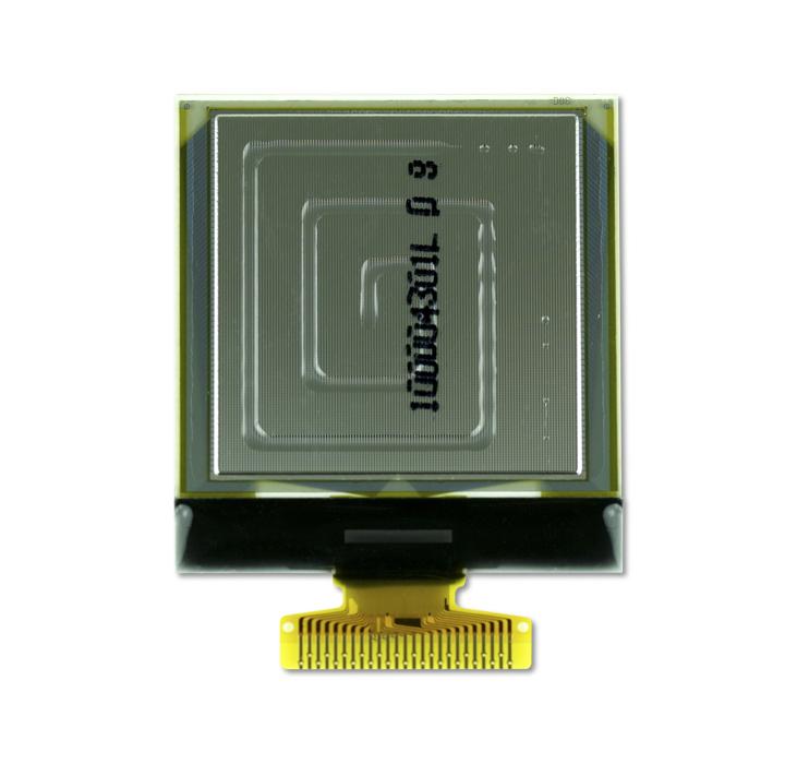 """1.5"""" Yellow OLED USMP-P22101 Back"""