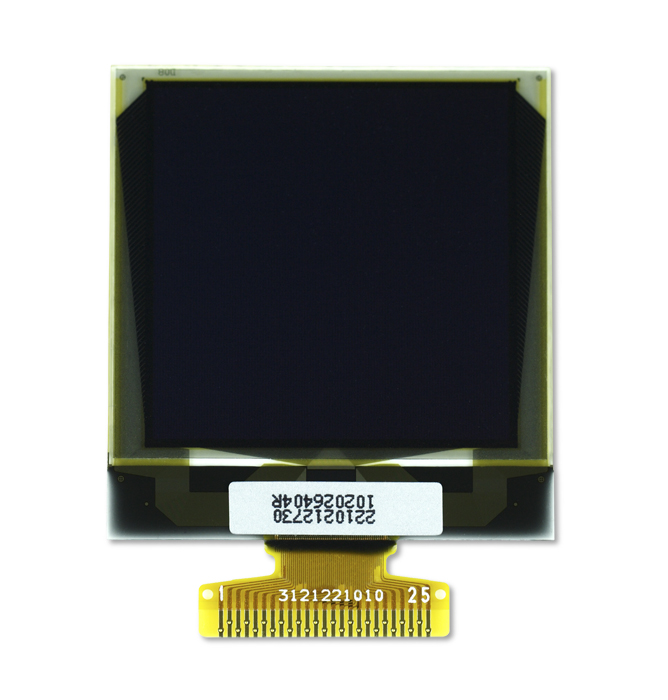 """1.5"""" Yellow OLED USMP-P22101 Front"""