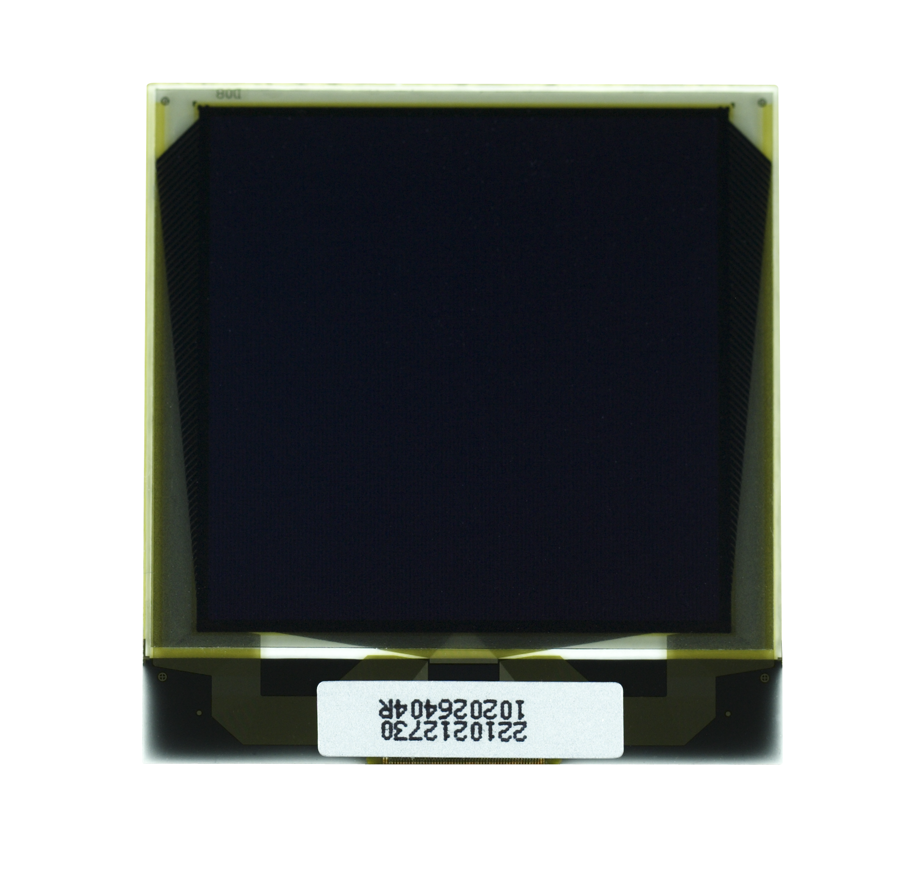 """1.5"""" White OLED USMP-P22102 Front No Tail"""