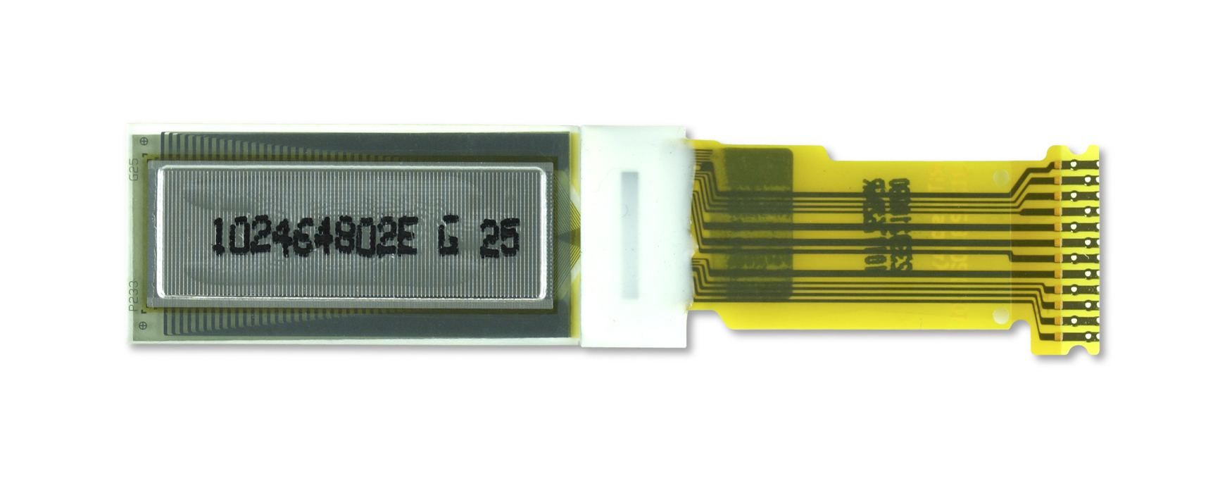 "0.8"" White OLED USMP-P23302 Back"