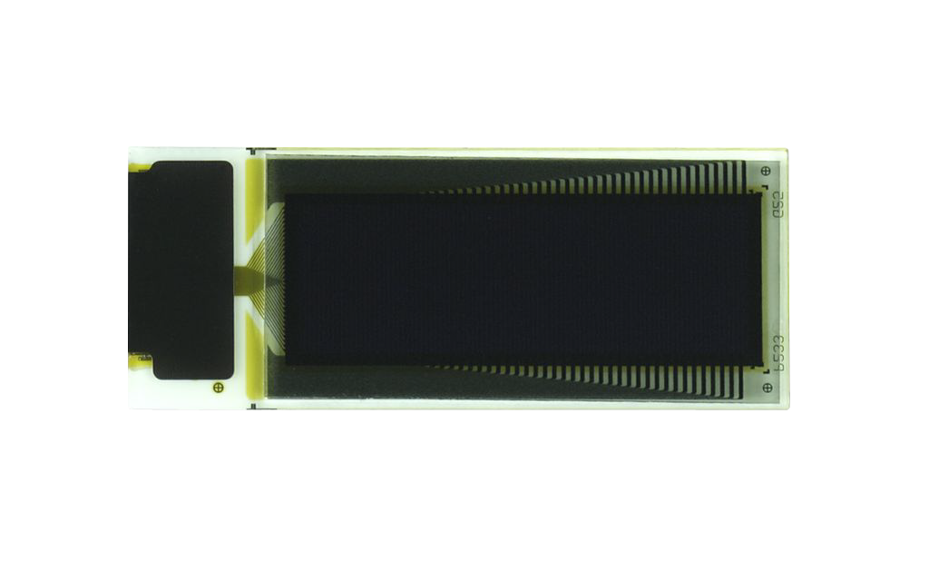 "0.8"" White OLED USMP-P23302 Front No Tail"