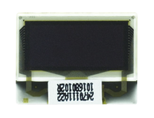 "0.5"" White OLED USMP-P24701 Front No Tail"